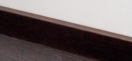 Sockelleiste Leiste schwarz Parkett Dielen Style Flooring