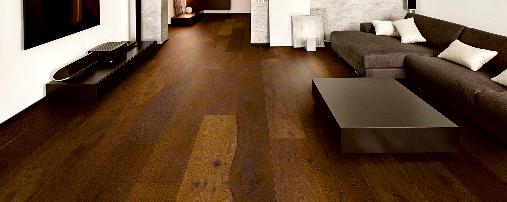 Grand Serie Eiche Grand geräuchert Country Style Flooring Parkett Dielen Köln