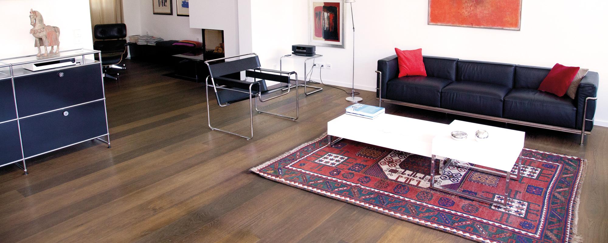 Lack Serie Design Eiche geräuchert Country Style Flooring Parkett Dielen Köln